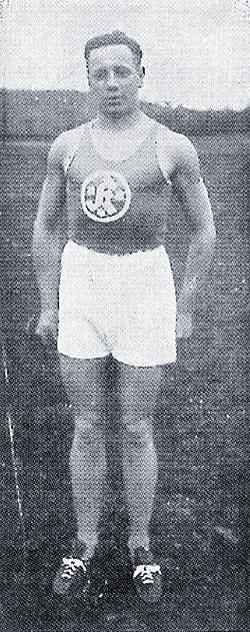 Fritz Möbus, der Läufer.