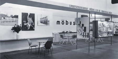 Möbus Verkaufssfläche 50er Jahre